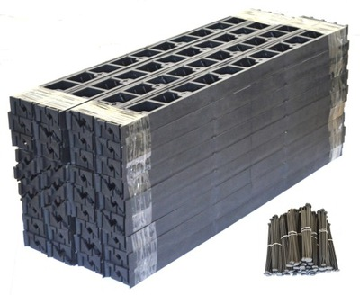 комплект Край ГАЗОННЫЕ BORDER 78 + АНКЕРА 20м