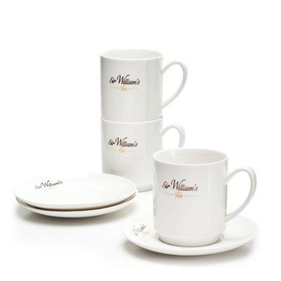 Сэр Уильямс Чай чашки для завтрака, фарфор