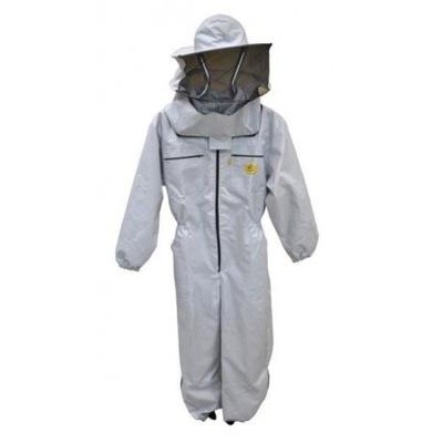 Pszczelarski jumpsuit s klobúk dvojité L
