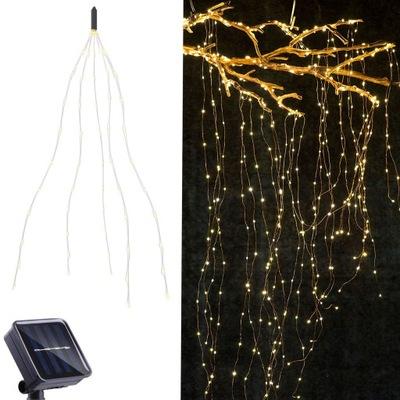 100 LED  огни солнечное садовое Лампа накаливания Лампы Led