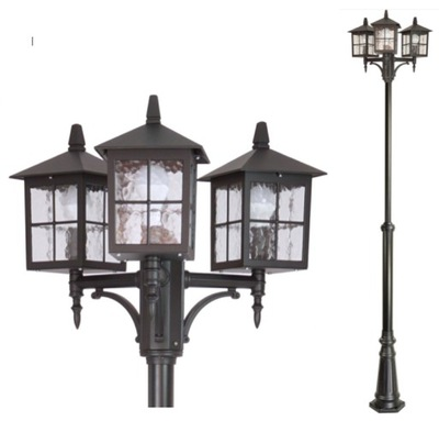 lampy parkowe solarne allegro