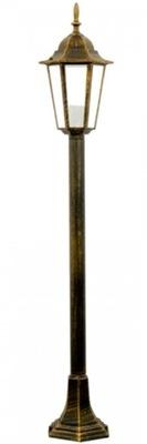 Lampy, Záhradné Stojí Vysoký Stĺpec 1 m Patinou