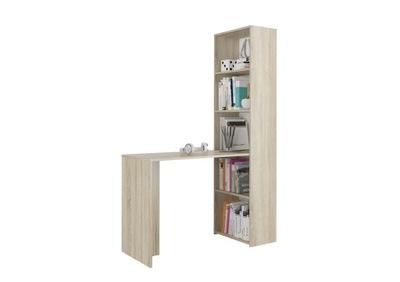 Мебель письменный Стол, журнальный столик, книжный шкаф książk 125см сонома B50S