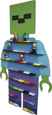 Polica police kúpiť mužov LEGO Ala minecraftt