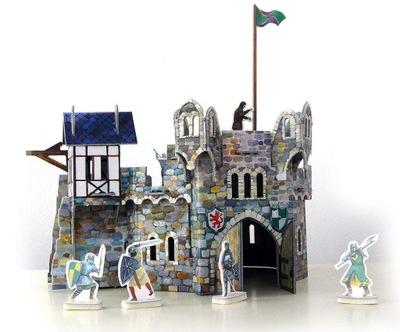 Модель из бумаги Средневековая Башня Умный Paper
