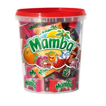 Mamba микс резинка Растворим в Ведро 48 штук