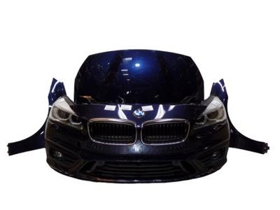 bmw f45 218d kpl przód maska lampy led sport 475