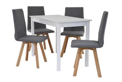 mały zestaw stół i 4 krzesła, stół, stoły, krzesła