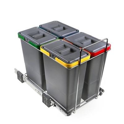 Сортировщик на мусор ECOFIL 4 ведра ELLETIPI