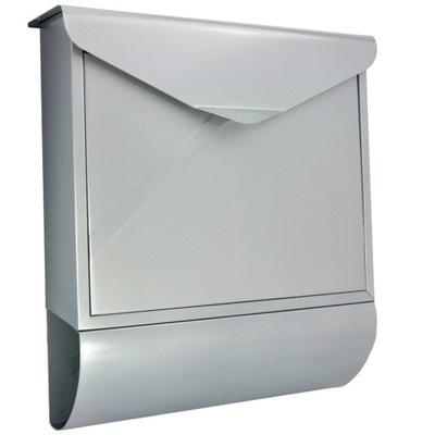 Poštová schránka - mail schránky ZÁSUVKY STRIEBORNÉ VEĽKÉ XXL OBLASTI