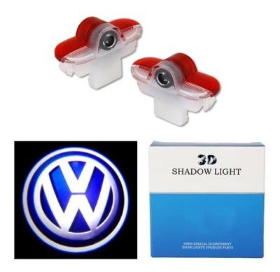 LED LOGO PROJEKTOR VW GOLF IV CADDY TOURAN SHARAN