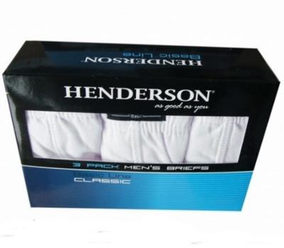 HENDERSON SLIPY 3PAK CLASSIC 1446 ROZM.XL BIAŁY