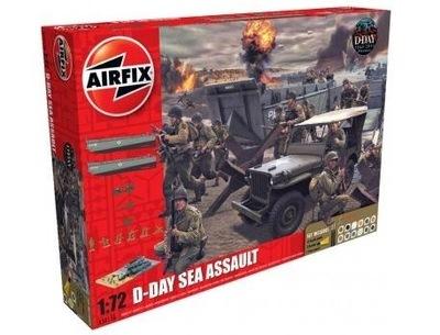 D -Day Sea Assault Set комплект podarun Airfix 50156A