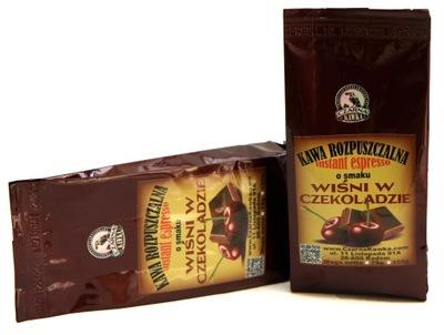 кофе растворимая ?? вкусом Вишня в шоколаде