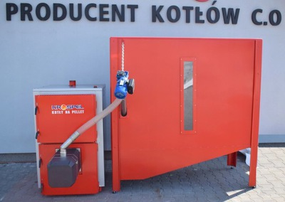 Kotol je, že pelety s táckou KIPI výkonom 100 KW