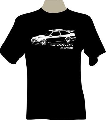 KOSZULKA T-shirt dla fana ford SIERRA RS Cosworth