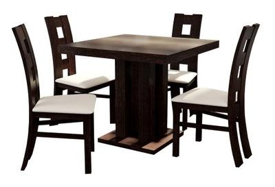 стол Игорь 90x90/225 + 4  ??????????  стулья K -42