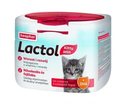 LACTOL KITTY MILK 250 г корм заменитель молока КОШКИ
