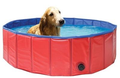 БАССЕЙН ДЛЯ собак домашних ЖИВОТНЫХ СОБАК 120 см
