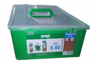 Wkręty Tarasowe Spax Wirox 45x60 Mm Bit I Frez