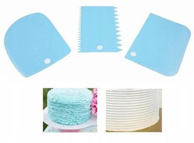 Лопатки лопатки для распределения крема на торт