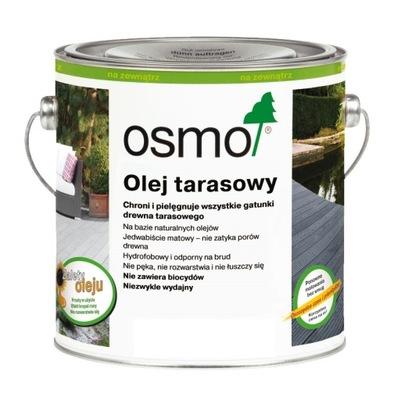 OSMO 020 Olej na terasy na rôznych úrovniach,drevo 2.5 L Black