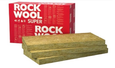 ?????????? вата ROCKWOOL SUPERROCK 5 см 50 мм