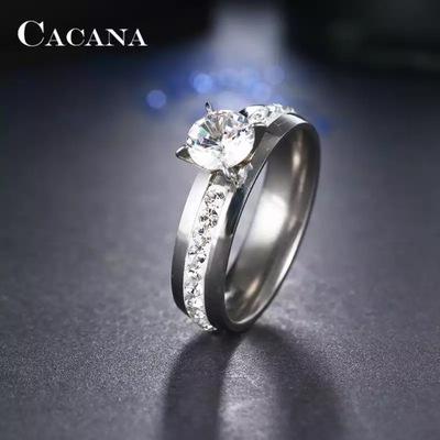Śliczny pierścionek obrączka z cyrkoniami