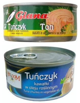 тунец штук консервов в собственном соку и в масле 170г