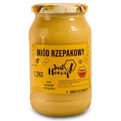 Мед рапсовый nektarowy 100 % натуральный 1 ,2кг