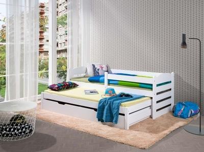 кровать кровать низкой 2 человек с барьерчиком белое
