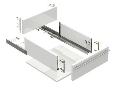 ящик SLIM BOX H-126 ММ Л -550 ММ Белый Amix