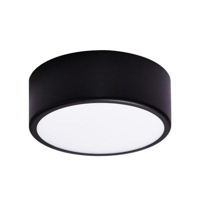 Stropné svietidlo Stropné svietidlo LED CLEO 200/75 24W Čierna