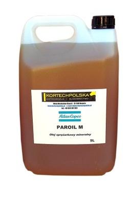 масло нагнетательный минеральное Атлас Copco Paroil М 5л