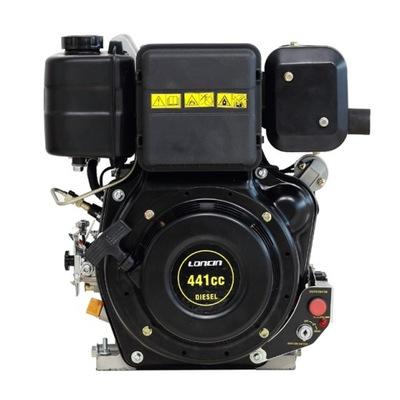 Silnik diesel LONCIN 10KM D440 rozrusznik 25,4mm