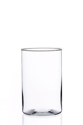 Ваза стеклянный цилиндр ТУБА лас банку высокий 21 ,5
