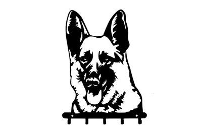 вешалка на поводки ключи Собака ОВЧАРКУ овчарка