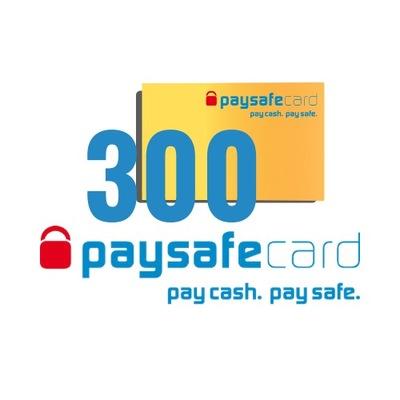 PaySafeCard 300 zł (200 + 100)