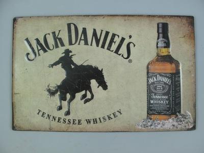 BLASZANY SZYLD - JACK DANIELS tennessee whiskey