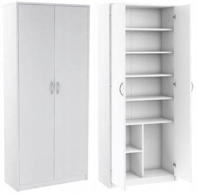 Стеллаж офисный Закрыт шкаф шкаф R4 Белый