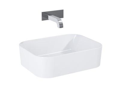 Umývadlo na dosku ELITA PLACA obdĺžniková miska 48x37