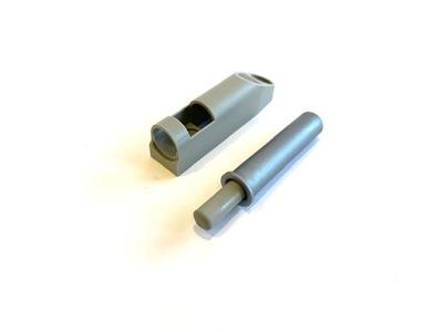 Amortyzator hamulec do drzwi AIRTIC Szary+adapter+