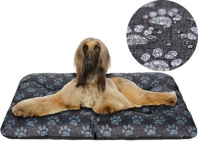 логово для собаки 100x70 водонепроницаемые ЛАПЫ лен !