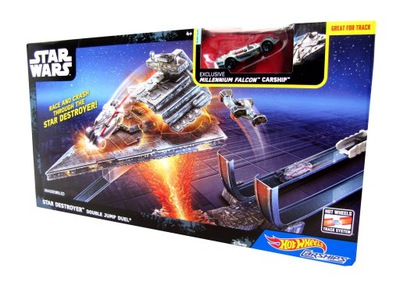 SADA HOT WHEELS AUTOSTATKI TOR + AUTO STAR WARS
