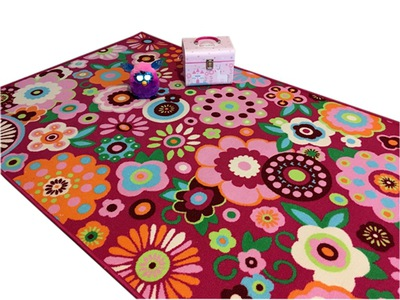 DISNEY 115x170 KOBEREC non-Slip kvety /folk