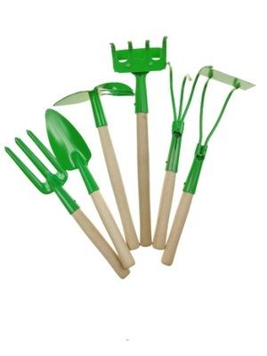 комплект садовых инструментов для działkowca 6 штук