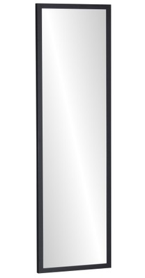 зеркало в плечо 130x40 черные _ _ или белое узкая Рама