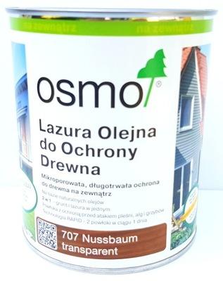 Osmo 707 Lazur Olej 0.75 l x 2 Ks = 1,5 l Orech