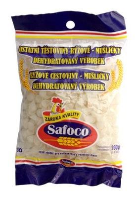 Рисовая лапша без глютена ракушки 200г SAFOCO