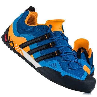 Buty Adidas TERREX SWIFT SOLO AQ5296 niebiesko pomarańczowe NEW